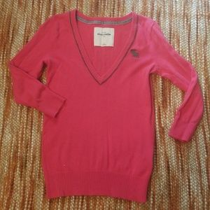 Abercrombie kids xl 14 16 pink sweater girls